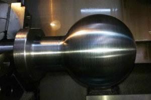 Crane Boom Trailer Pivot Ball - Metal Repair Systems
