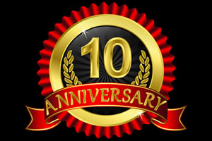 10 Years In Our Own Home Anniversary Promotion