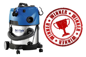 Winner of our Nilfisk Multi20 Wet and Dry Vacuum cleaner promotion